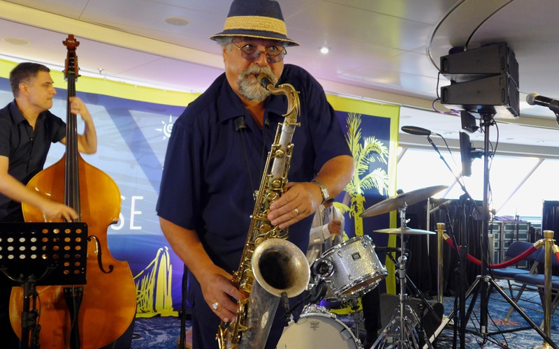 Peter-Slavov,-Joe-Lovano,-Francisco-Mela---Jazz-Cruise-2016---Hans-Bernd-Kittlaus